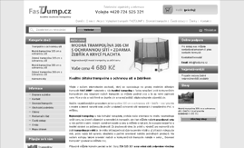 Internetový obchod www.fastjump.cz