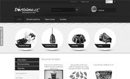 Internetová stránka www.dortisimo.cz