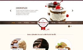 Internetová stránka www.cukrarskepomucky.cz